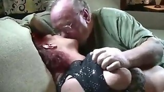 Old BBW with husband