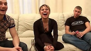 Drunk Russian whore Adelina - one night stand movie