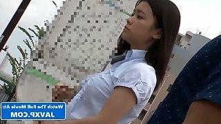 Asian 18Yo Schoolgirl Fucks On The Bus